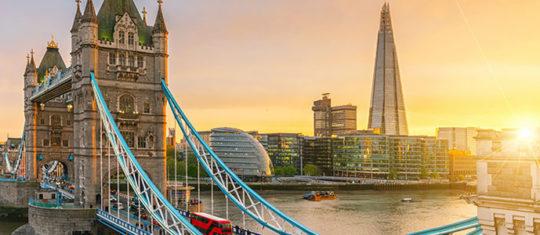 Coût de la vie à Londres et l'Angleterre